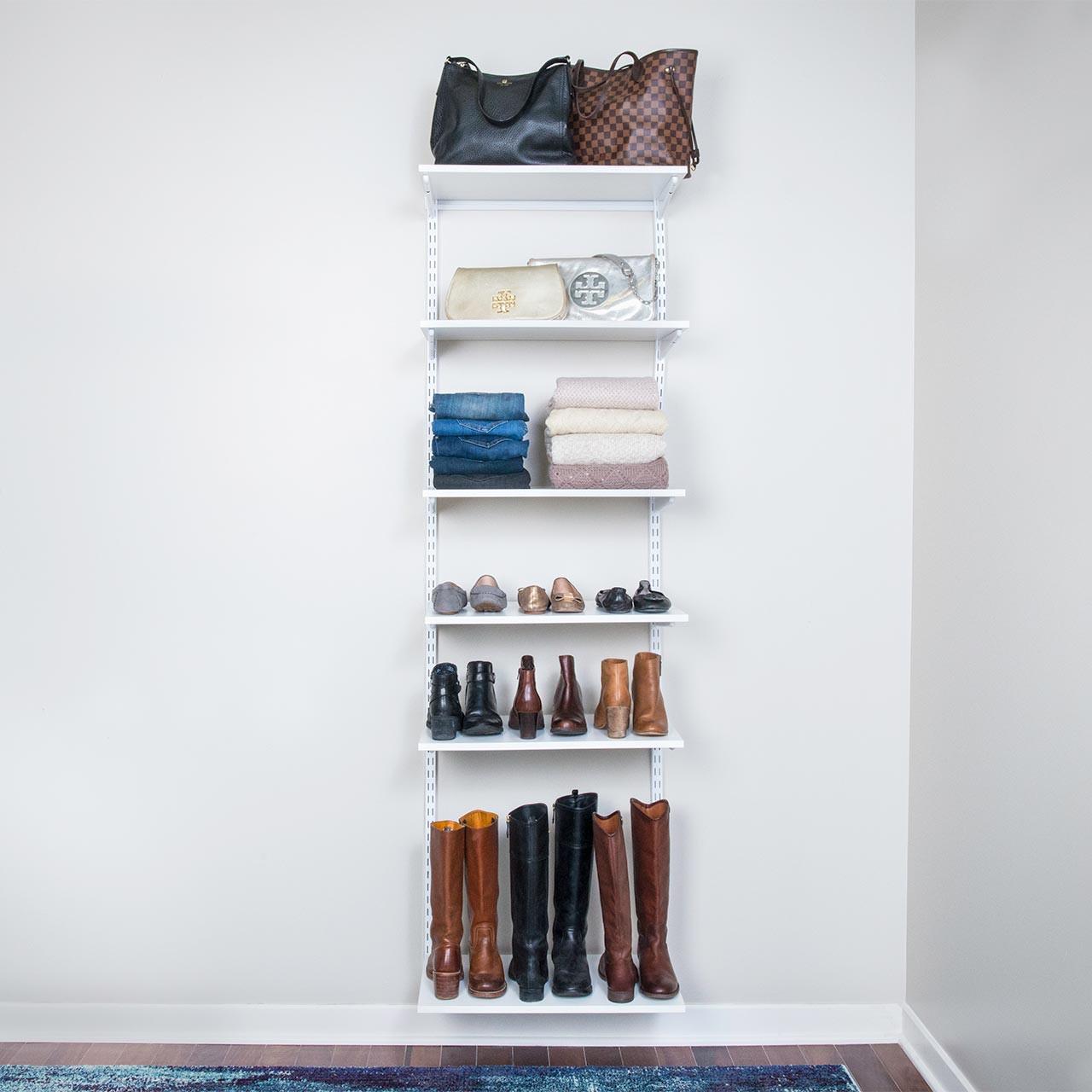 "freedomRail Adjustable Shelf Kit- 24"" (6 Shelf)"