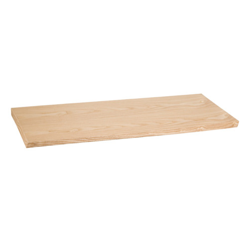 """Light Oak Wood Desktop Shelf - 48"""" L"""