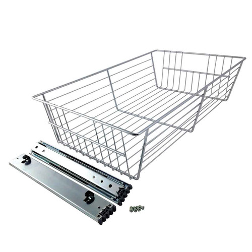Obox Chrome Basket with Glide