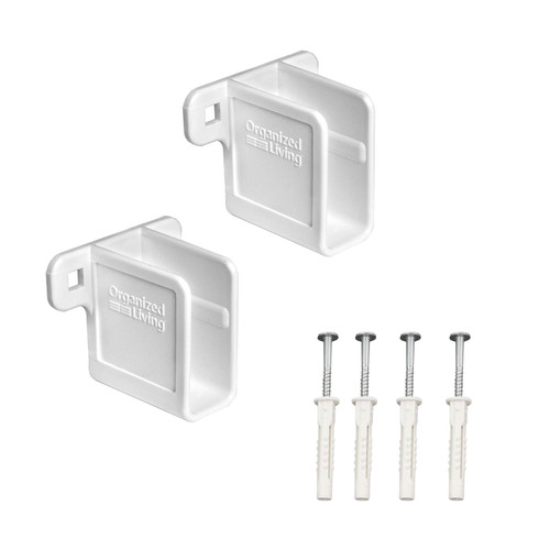 Side Wall Bracket for Organized Living Ventilated Shelving