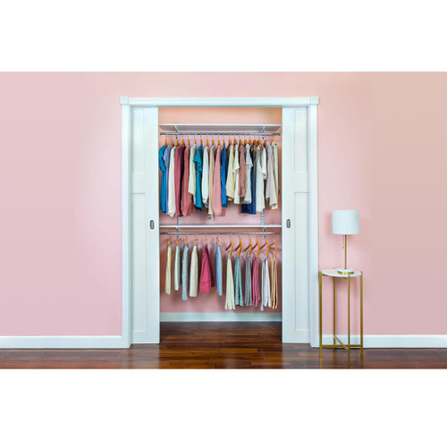 Organized Essentials Adjustable Closet Kit - 48""