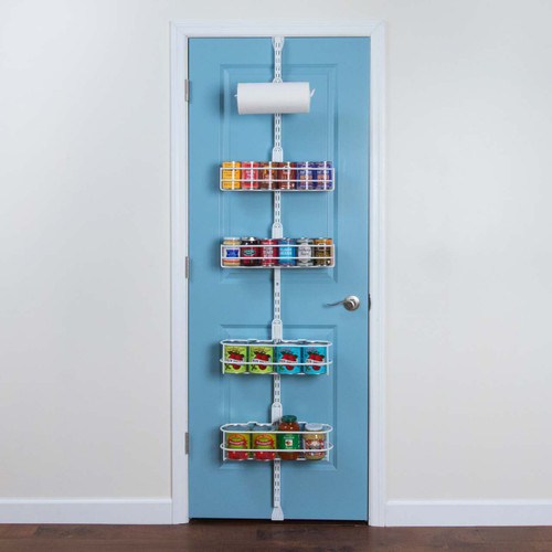 Over the Door Pantry Kit - Classic (White)