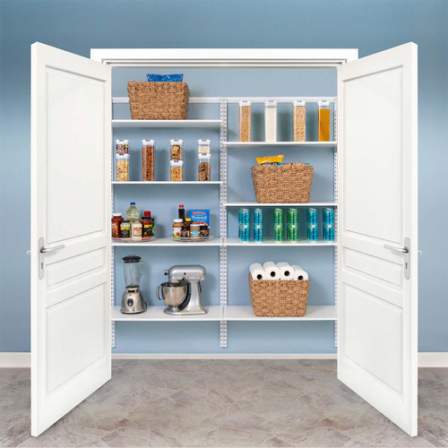 "Basic Adjustable Pantry Kit, 72""-76"""