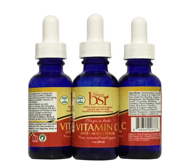 Vitamin C SERUM , PREMIUM QUALITY for Radiant Skin  (1oz)