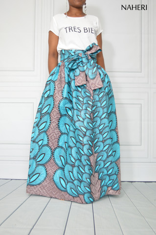 African print maxi skirt - ZAINA tribal skirt African fashion