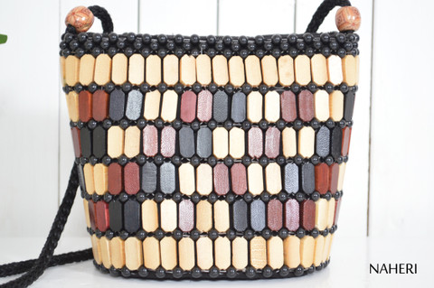 African beaded cross-body sling bag naheri accessories