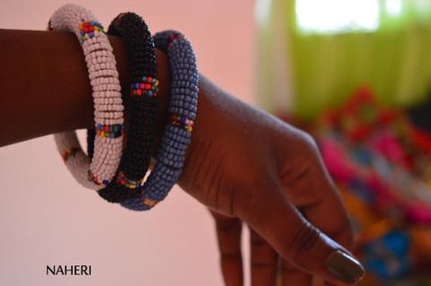 African Maasai beaded tribal bracelets/bangles