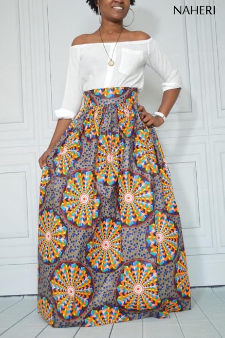 African print maxi skirt ankara wedding dress