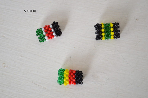 Beaded braids and rasta beads multi color