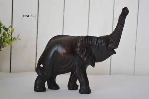 African inspired animal carving Elephant