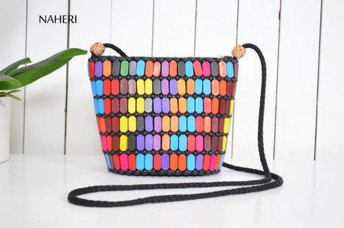 naheri African bags beaded cross body tribal bag