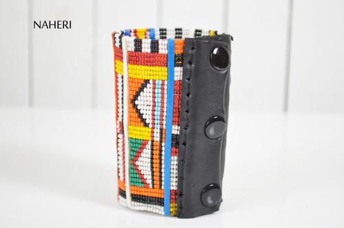 African tribal cuff bracelet maasai handmade jewelry naheri