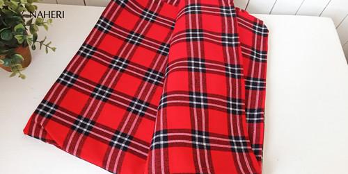 African Maasai Shuka red plaid naheri accessories
