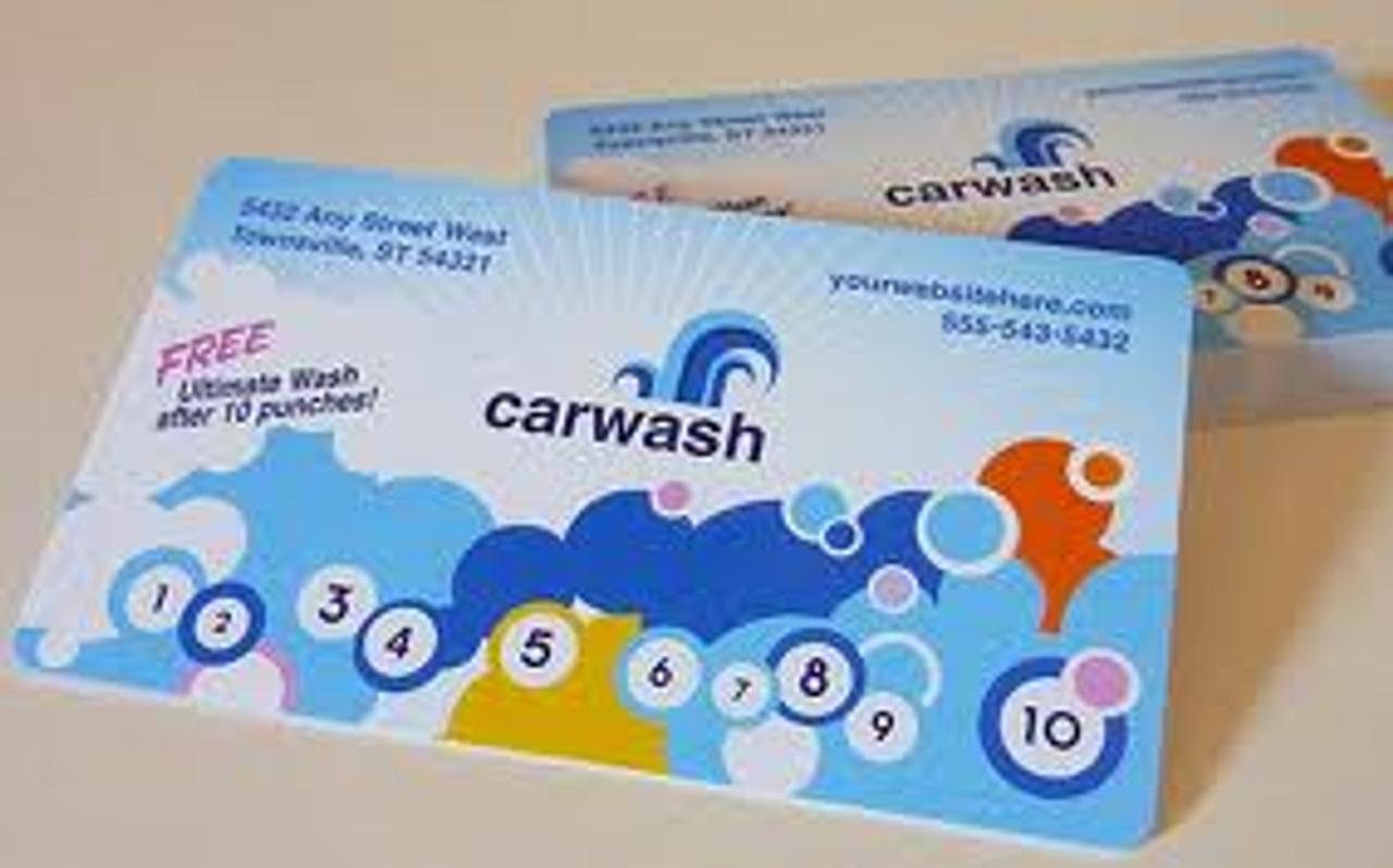 30pt Full Color Plastic Business Cards