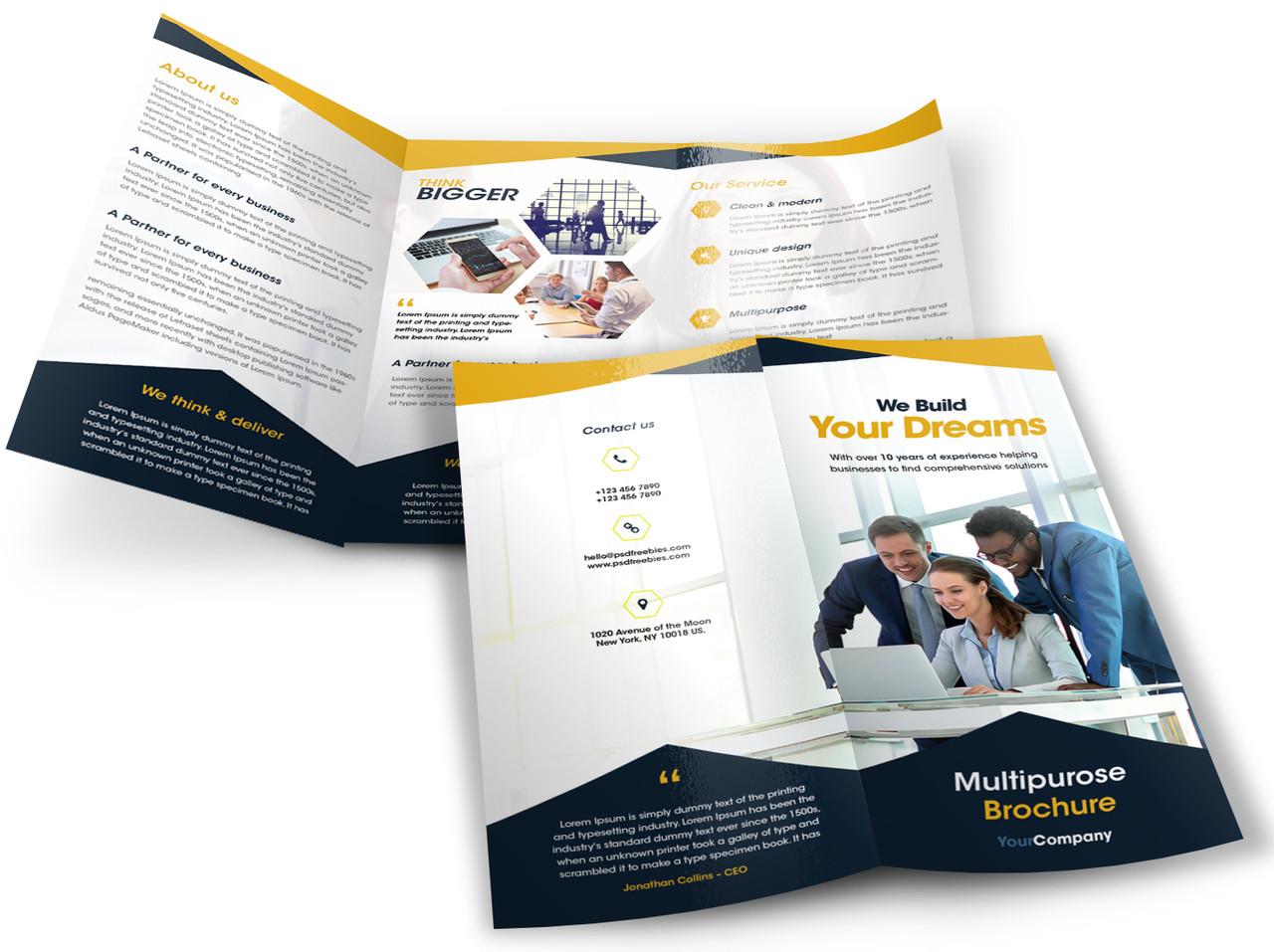 full color brochures menus on 100lb gloss 100lb gloss full color