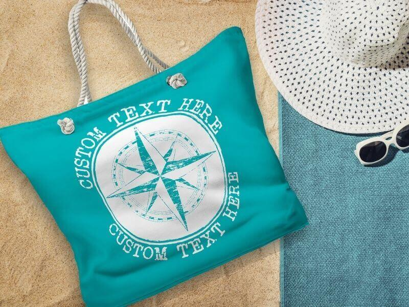 Beach Bags, Nautical Totes, Boat Bags