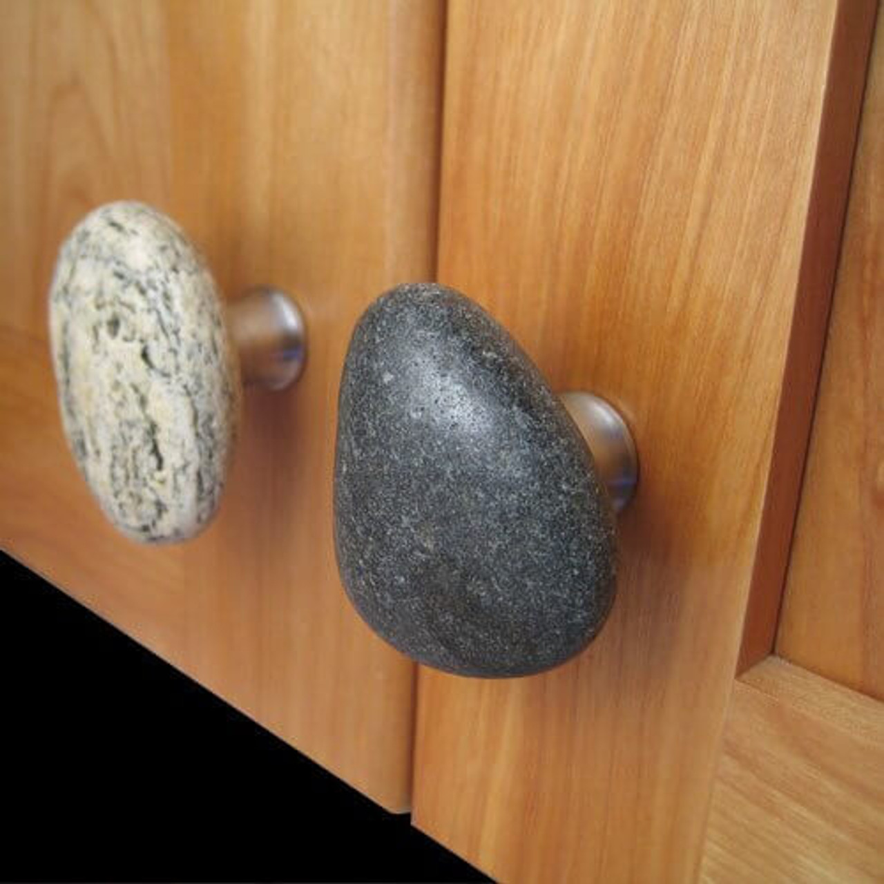 Furniture knobs Drawer Pull 1 pcs Stone Cabinet Knobs Handmade Door knobs Sea Stone Kitchen Cabinet handle