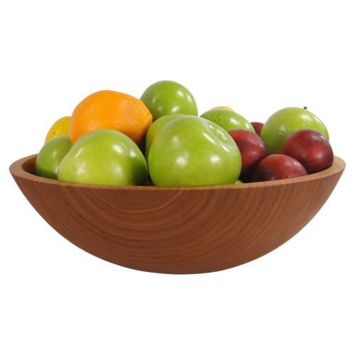 15 Inch Cherry Wooden Bowl