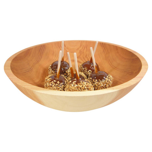 15 Inch Honey Locust Wooden Bowl