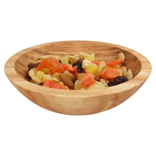 7 Inch Honey Locust Wooden Serving Bowl