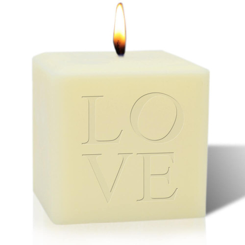 LOVE soy blend candle
