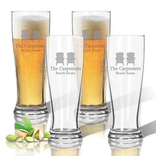Adirondack Chair, Beer Glasses, Unbreakable Acrylic Glassware