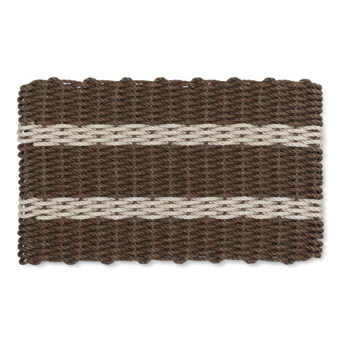 Wicked Good Nautical Rope Doormat, Brown & Tan