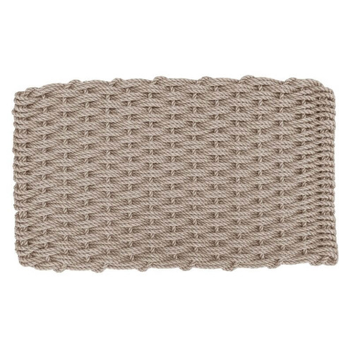 Lobster Rope Doormat, Warm Sand