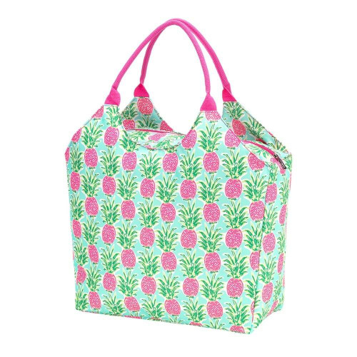 Personalized Summer Tote Bag, Sweet Pineapple Paradise