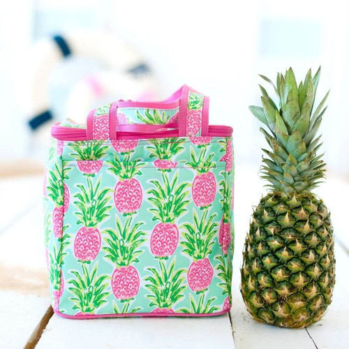 Personalized Cooler Tote, Sweet Pineapple Paradise