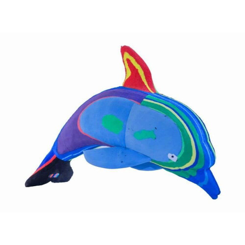 Recycled Flip Flop Dolphin