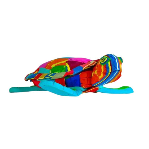 Recycled Flip Flop Sea Turtle, Large