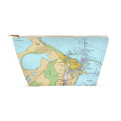 Nautical Chart Dopp Kit