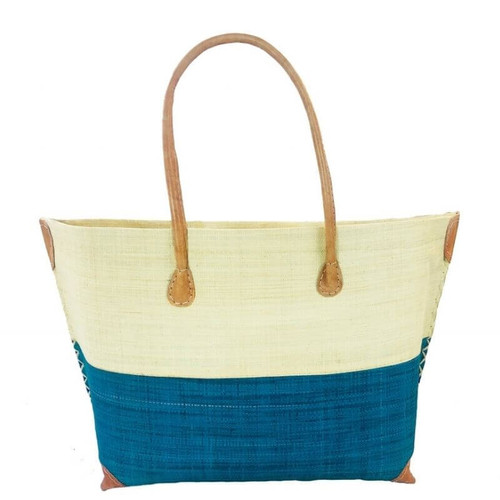 Monterey Raffia Tote, Handwoven & Eco-Friendly