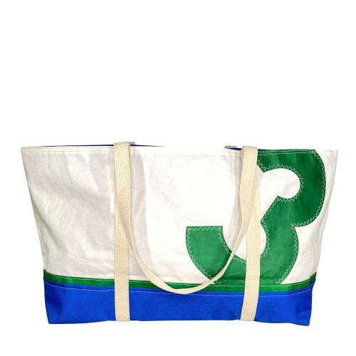 Recycled Sail Bag, Tote Bag Handmade from Sails