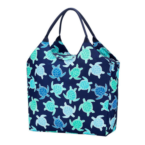 Personalized Summer Beach Bag, Myrtle Turtle
