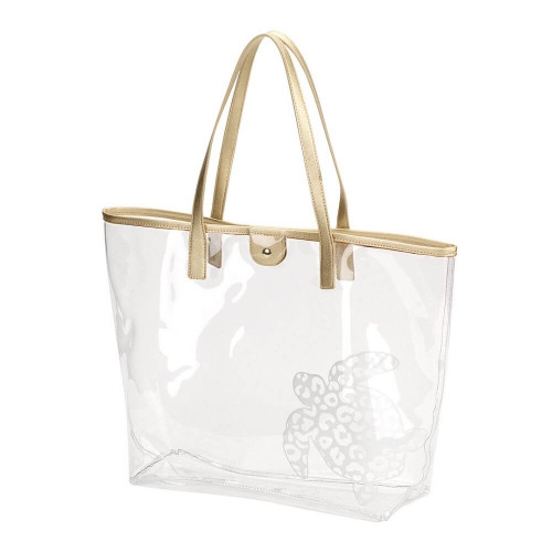 Clear Nautical Beach Bags, Totes, Turtle