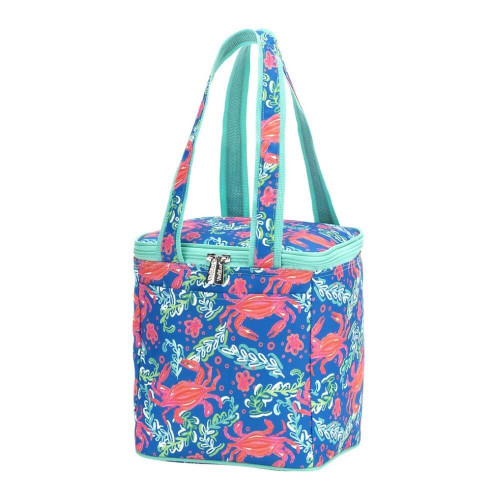 Personalized Cooler Tote, Sand Hopper Crab