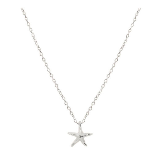 Starfish Keepsake Necklace, Nautical Jewelry