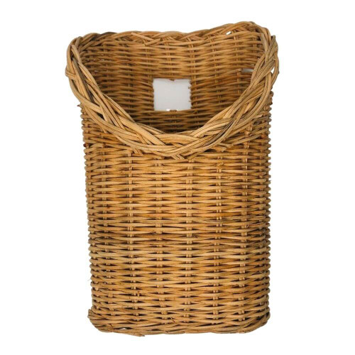 Handwoven Rattan Wicker Hanging Basket