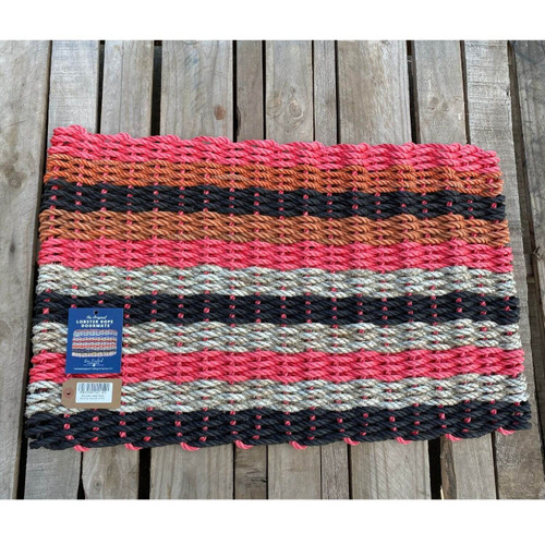 Recycled Lobster Rope Doormat, Style 20, 21x33