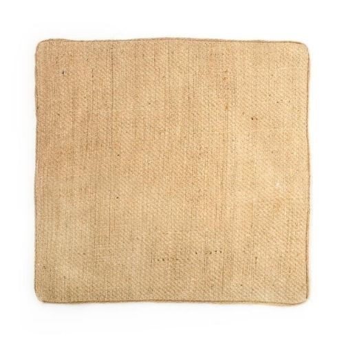 Natural Woven Jute Square Placemats, Set of 4