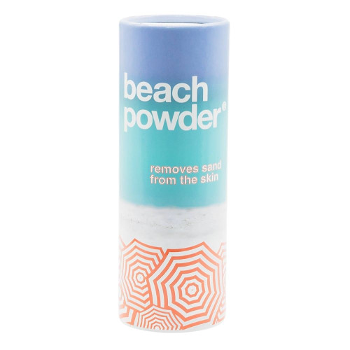 Beach Powder, Removes Sand from Skin
