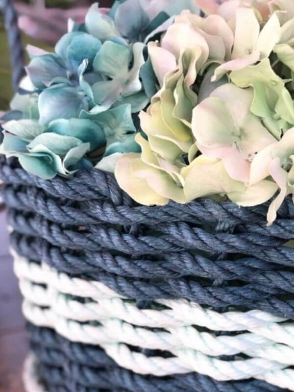 25 Ways to Use a Lobster Rope Basket