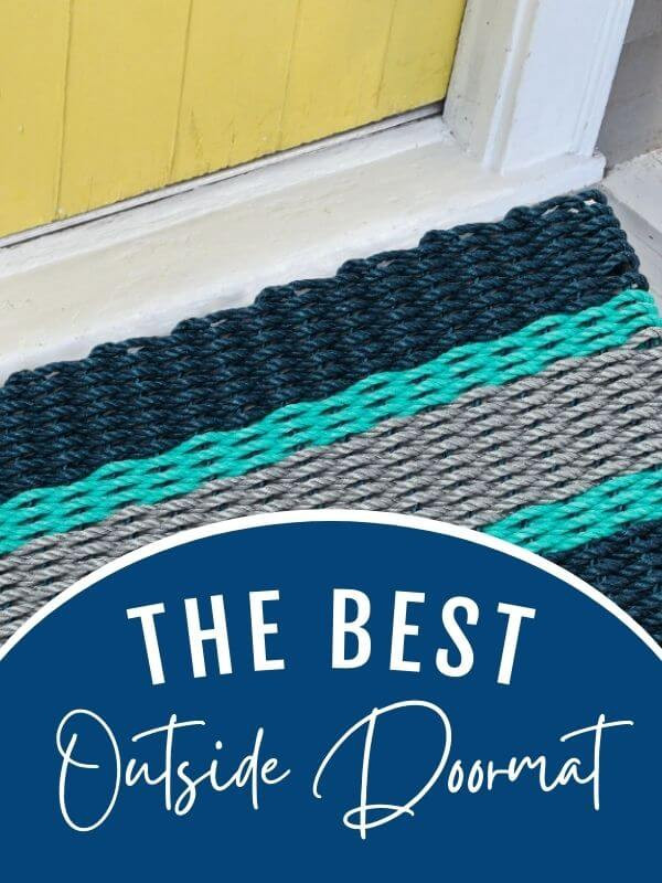 What is the best doormat for outside?