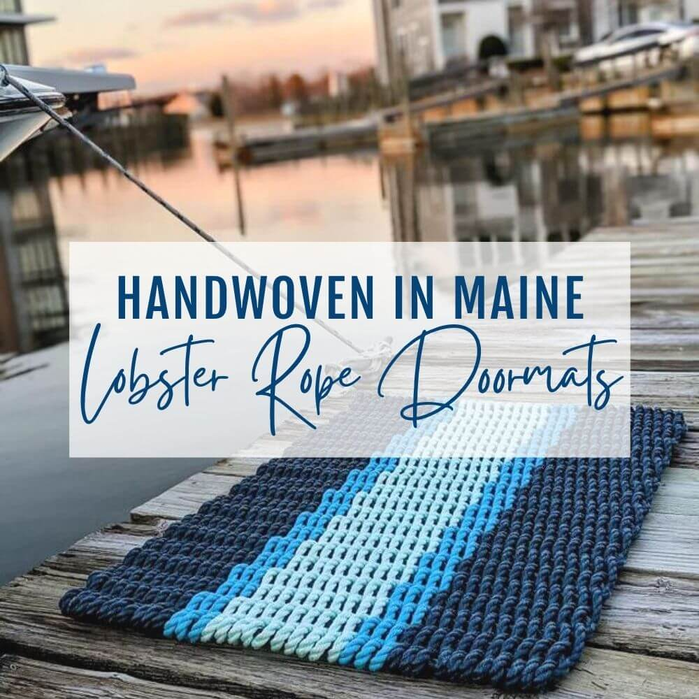 Lobster Rope Doormats, Nautical Rugs