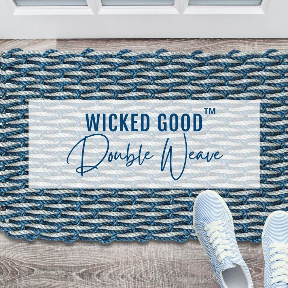 Lobster Rope Doormat, Coastal Decor, Nautical Gifts