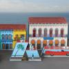Elie Bleu Casa Cubana Wooden Ashtray