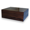 Elie Bleu Walnut 75-Cigar Humidor - Classic Collection (NO15RN075SS)