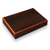 Savoy Macassar Ebony 12 Cigar Desktop Humidor